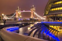 City Hall and Tower Bridge by David J French