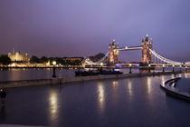 City Hall and Tower of London and Tower Bridge by David J French