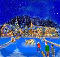 Das Weihnachtsdorf von Heidi Schmitt-Lermann