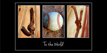 Joy to the World - Baseball Images von Spell-It-Out Photos