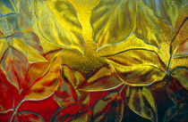 Autumn - Glass Leaves by Steve Outram