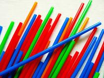 Plastic Straws von Steve Outram