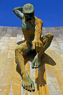 River God Tyne Sculpture von David Pringle