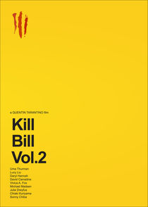 'Kill Bill Vol.2 Body Count' von Gidi Vigo