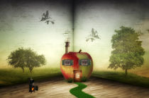 Der Apfel by Susann Mielke