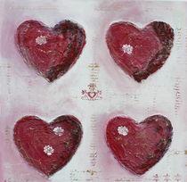 Herzen im Quadrat von Elke Sommer