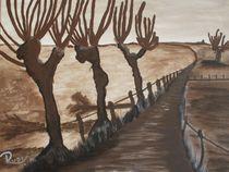 Braune Landschaft von Rudolf Urabl