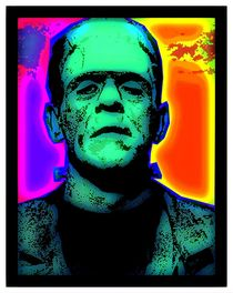 BORIS KARLOFF-FRANKENSTEIN'S MONSTER by Otis Porritt