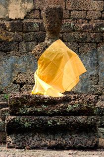 The Yellow Scarf von Carinne Gamas