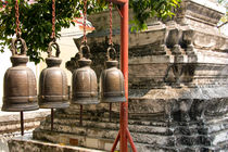Buddhist Bells II by Carinne Gamas