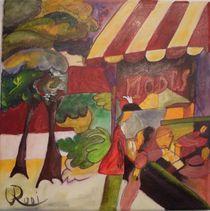 Schaufenster - nach August Macke von Rudolf Urabl
