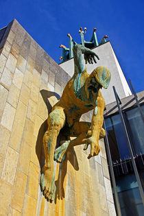 River God Tyne Sculpture III by David Pringle