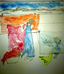 washing clothes by vivek sengupta