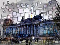 Der Berliner Reichstag  by Eckhard Röder