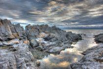 Limeslade Bay HDR by Dan Davidson