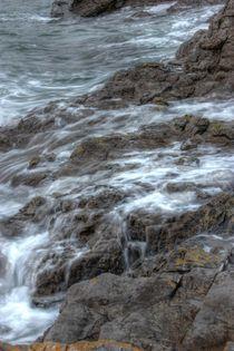 Wet rocks Swansea by Dan Davidson