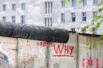 Berliner Mauer in der Niederkirchnerstraße, Berlin, Deutschlan von Matthias Hauser