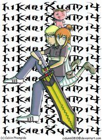 HikariXyami IV 4 Manga by calpho