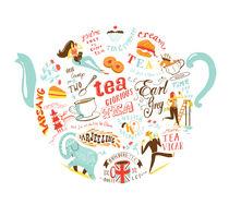 Tea Pot by Migy Ornia-BLanco