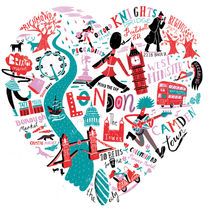 'Love London' by Migy Ornia-BLanco