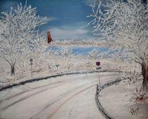 Winter an der Kieler Förde by Bärbel Knees