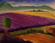 Lavendelfeld von Rudolf Urabl