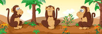 Die drei Affen von Michaela Heimlich
