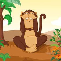 Die drei Affen - nicht sehen von Michaela Heimlich