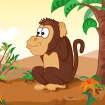 Die drei Affen 3 hören by Michaela Heimlich