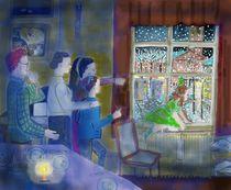 Weihnachtsabend 2 von Heidi Schmitt-Lermann