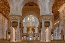 Sheikh Zayed Grand Mosque von Martyn Buter