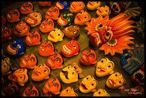Smiling Masks Of Sri lanka by Derick Reaper