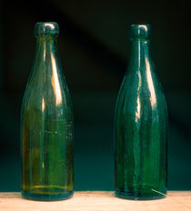 Two bottles by Lars Hallstrom