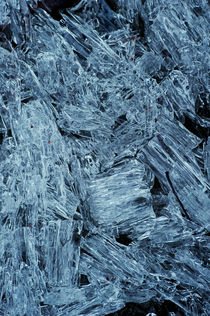 Ice crystals by Lars Hallstrom