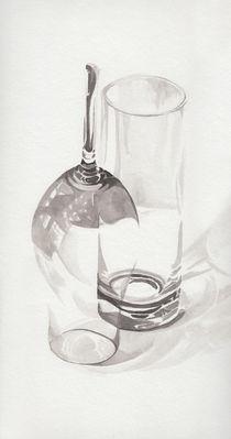 Zwei Gläser by Rosel Marci