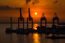 Sonnenaufgang in Haifa von gfischer