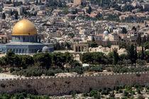 Blick auf Jerusalem von gfischer