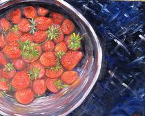 Bowl of Strawberries by A. Vohs