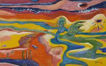Flussfrau von haselnusstafel