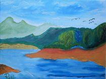Landschaft von Rudolf Urabl