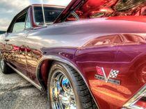 Classic Red Corvette von David Shayani