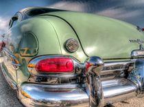 Classic Green Curves Car by David Shayani