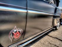 Black Devil Classic Car by David Shayani