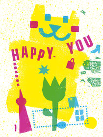 Happy You in Berlin by Ulrike  Jensen