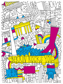 Berlin Rocks You by Ulrike  Jensen