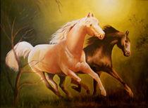 Horses by Veena Mekkat