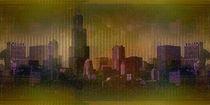 Skyline Chicago von Marie Luise Strohmenger