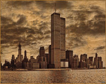 The Twin Towers, Circa 1979 by Chris Lord