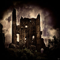 Corfe Castle Keep by Chris Lord