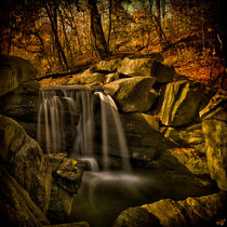 Autumn At The Waterfall  by Chris Lord